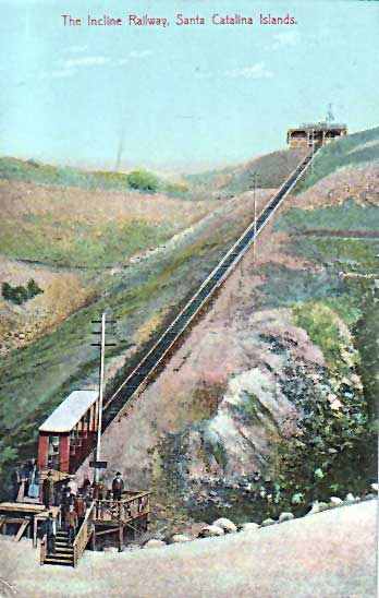 Incline Railway Satna Catalina Island