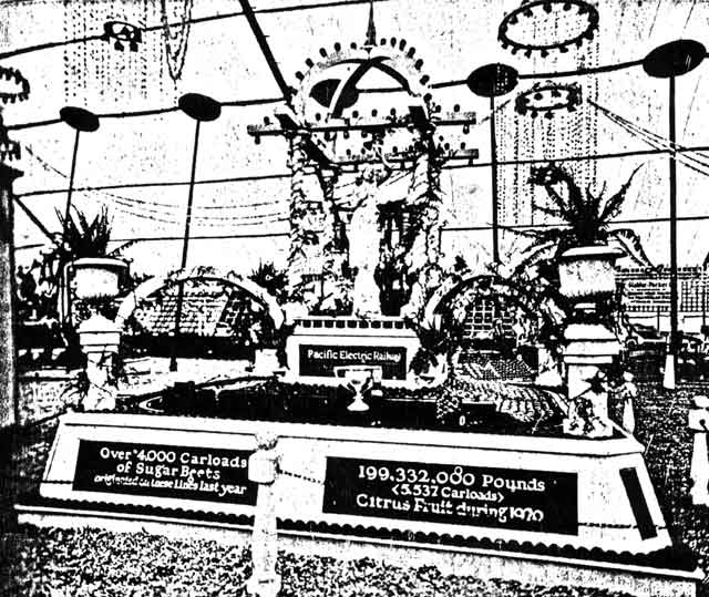 PE Orange Show Display 1921